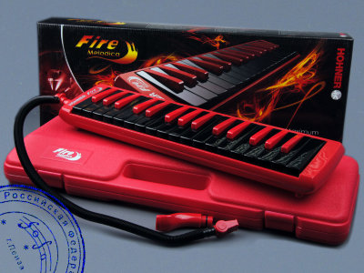 Мелодика HOHNER Fire Melodica Red/Black