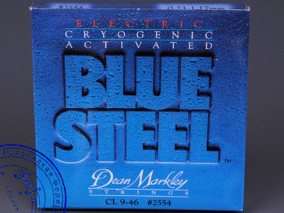 Струны для электрогитар Dean Markley BLUE STEEL 2554, 9-46