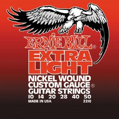 Струны для электрогитары ERNIE BALL 2210, .010-.050, Nickel wound
