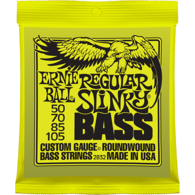 Струны для бас гитары ERNIE BALL 2832 .050-.105, Nickel wound